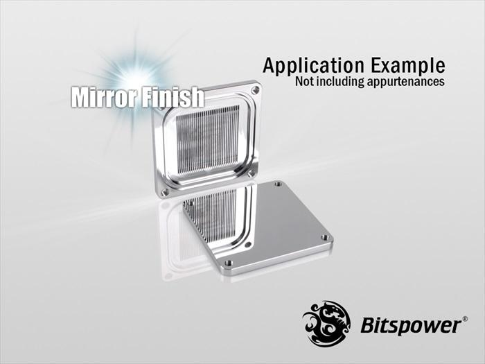 【取寄せ商品:通常納期約1週間】 Bitspower CPU Block Summit EF X