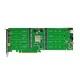 HighPoint SSD7540 NVMe M.2 SSD 8台搭載可能 RAID コントローラー