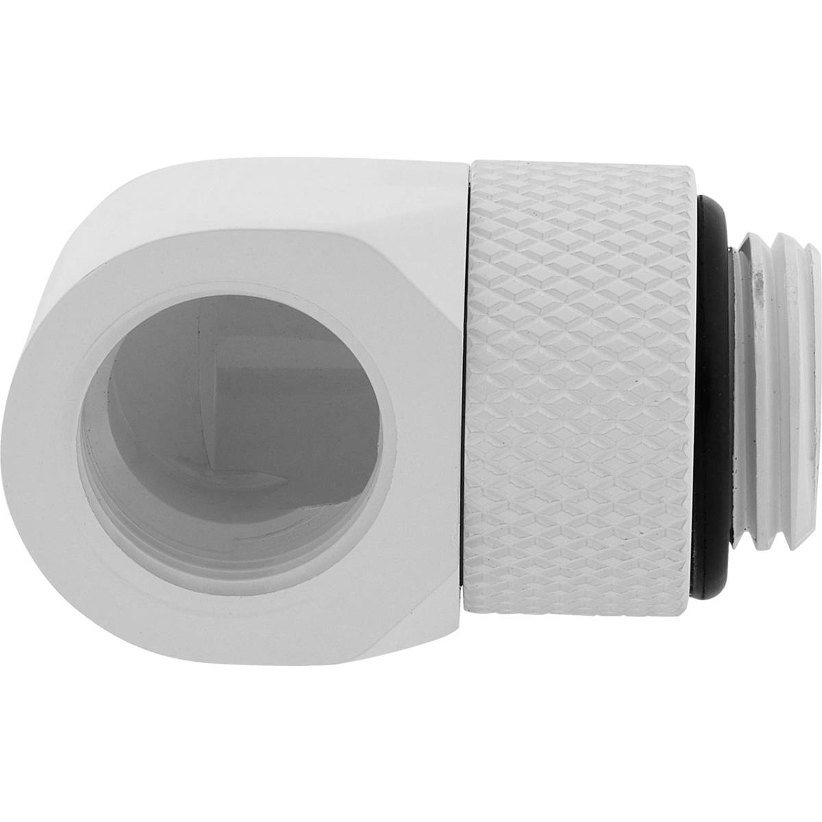 CORSAIR Hydro X Series 90° Rotary Adapter Twin Pack - White