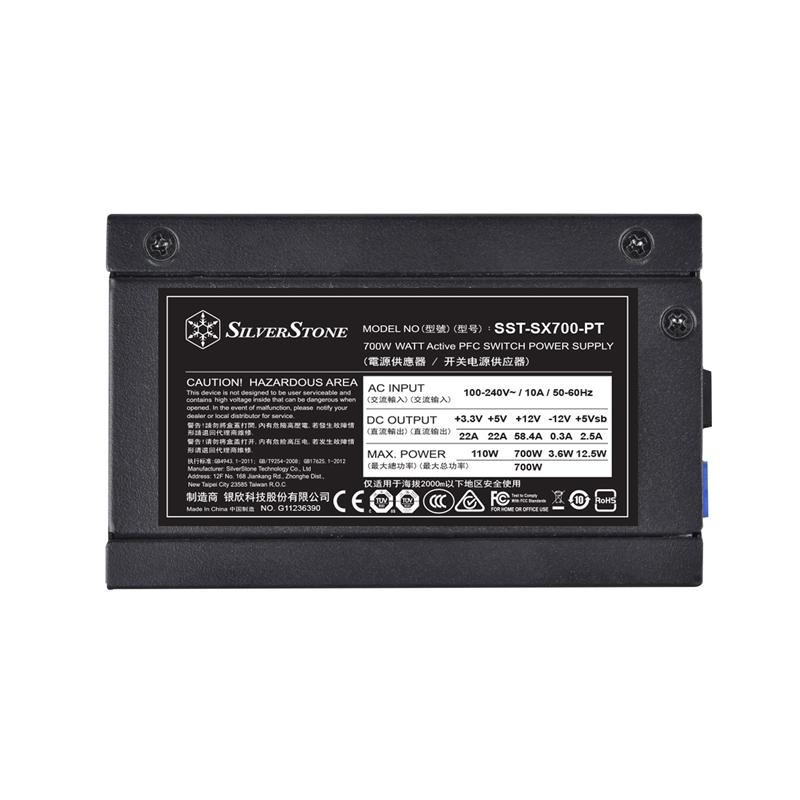 【お取寄商品:通常納期3〜4営業日】 SilverStone SX700-PT (SST-SX700-PT)