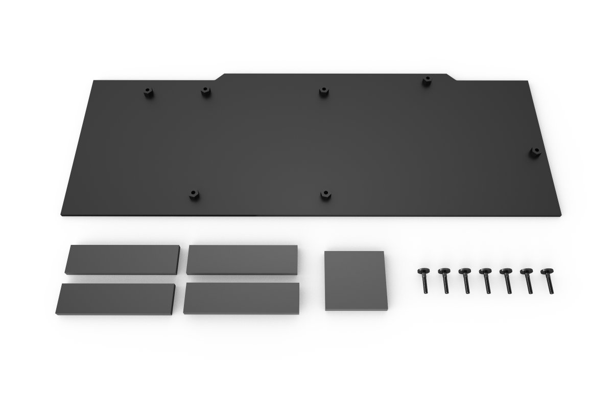 Alphacool Eisblock Aurora backplate GPX-N Nvidia Geforce RTX 2080/2080Ti FE (2070 & 2080 Super)