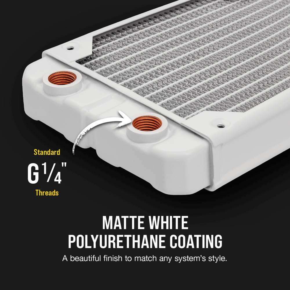 CORSAIR Hydro X Series XR5 360mm Water Cooling Radiator - White