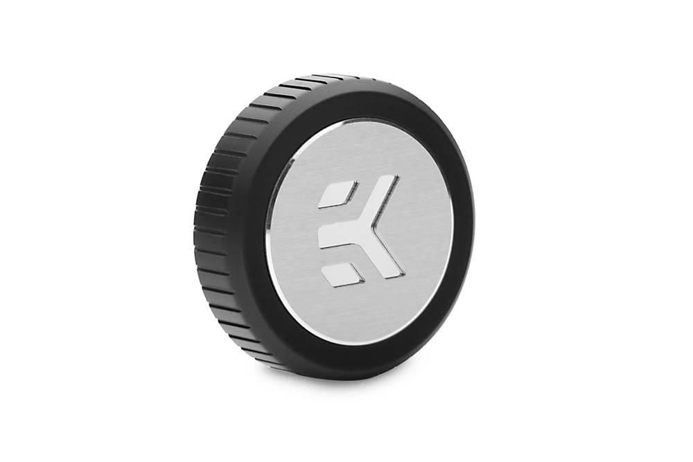 EK WaterBlocks EK-Quantum Torque Plug w/Badge - Black