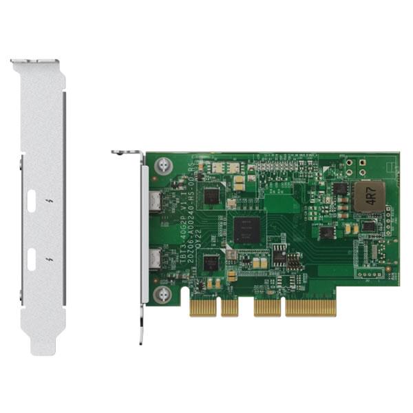 QNAP QXP-T32P 2ポート Thunderbolt 3 拡張カード