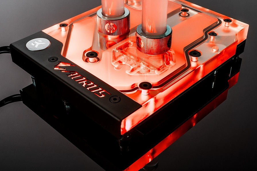 EK Water Blocks EK-FB GA X470 Gaming 5 RGB Monoblock - Nickel