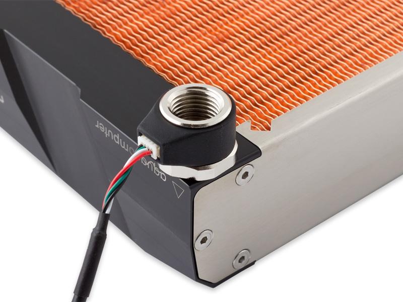 aquacomputer Calitemp digital temperature sensor internal/external thread G1/4 for aquaero 5/6