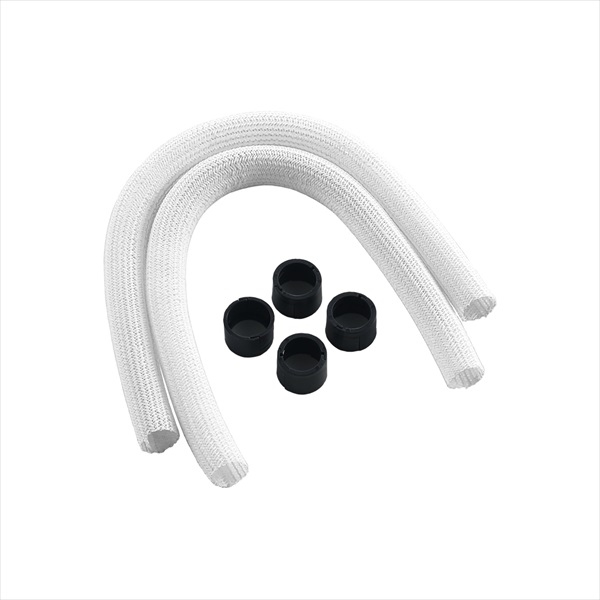 CableMod AIO Sleeving Kit Series 1 for Corsair Hydro Gen 2 - WHITE (CM-ASK-S1KW-R)