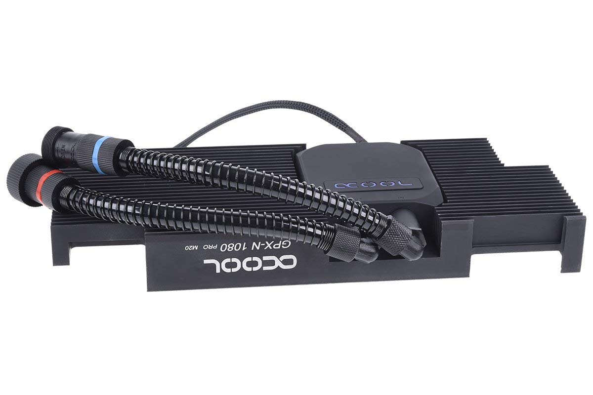 Alphacool Eiswolf GPX Pro - Nvidia Geforce GTX 1080Ti Pro M20 - incl. backplate