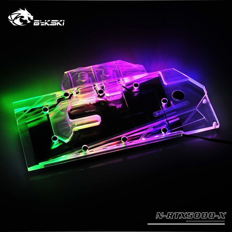 Bykski Quadro RTX 5000/6000/8000 Full Coverage GPU Water Block