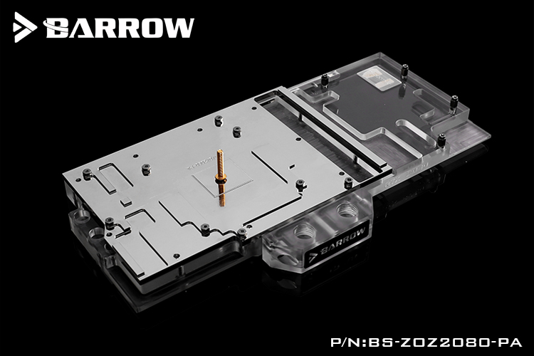BARROW ZOTAC RTX2080 PGF OC full cover GPU Water Block(Aurora)