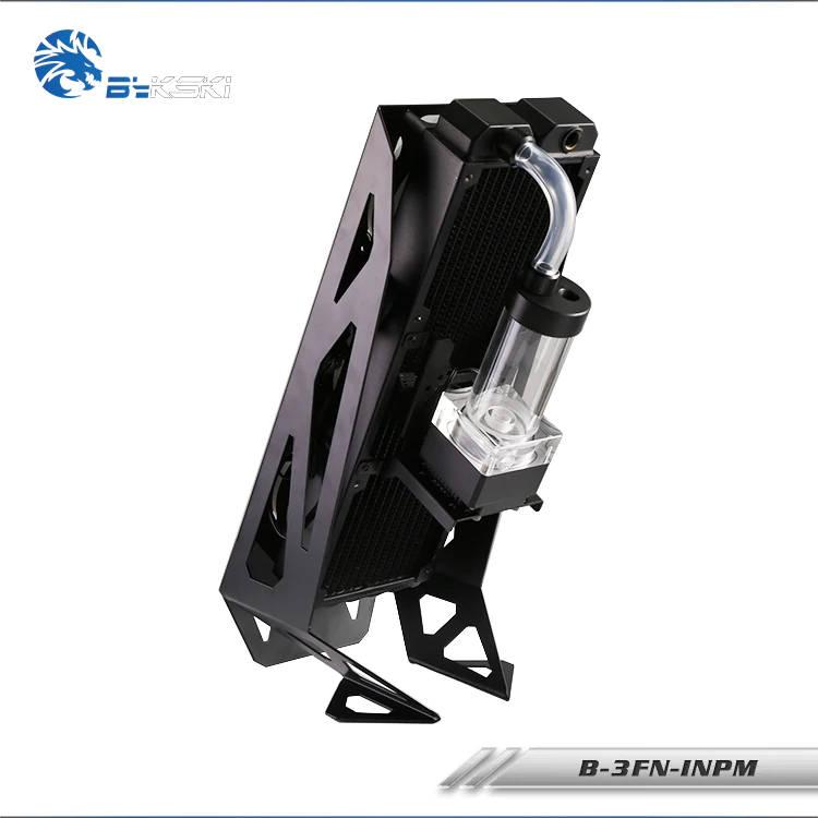 Bykski External 360mm Radiator Mount Stand - Black