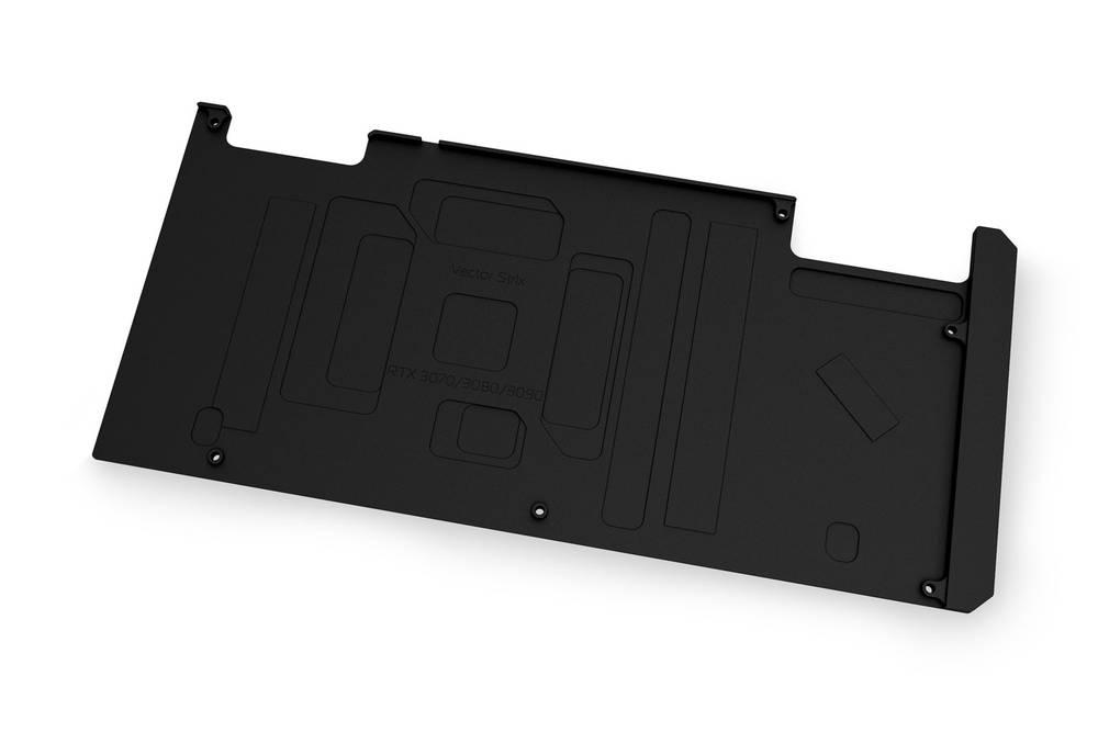 EK WaterBlocks EK-Quantum Vector Strix RTX 3070/3080/3090 Backplate - Black