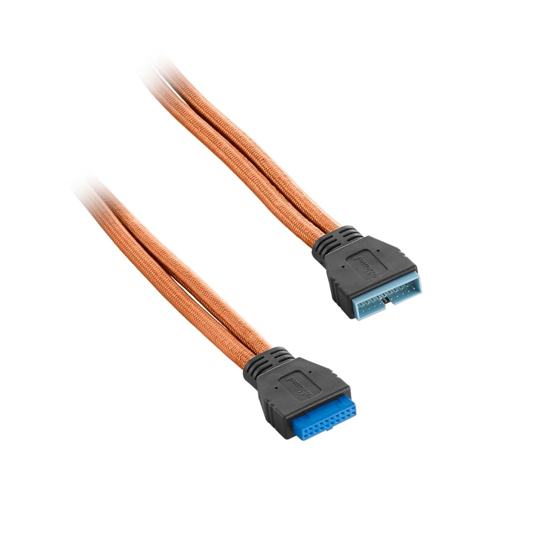 CableMod ModFlex Internal USB 3.0 Extension 50cm Orange (CM-CAB-IUS3-50KO-R)