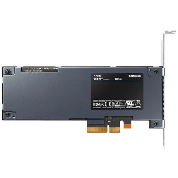 SAMSUNG MZ-PZA480B 480GB ZET Series HHHL PCIe 3.0 x4 SSD 【並行輸入 受発注】