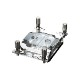Phanteks GLACIER C399A CPU Water Block Chrome (PH-C399A_CR01)