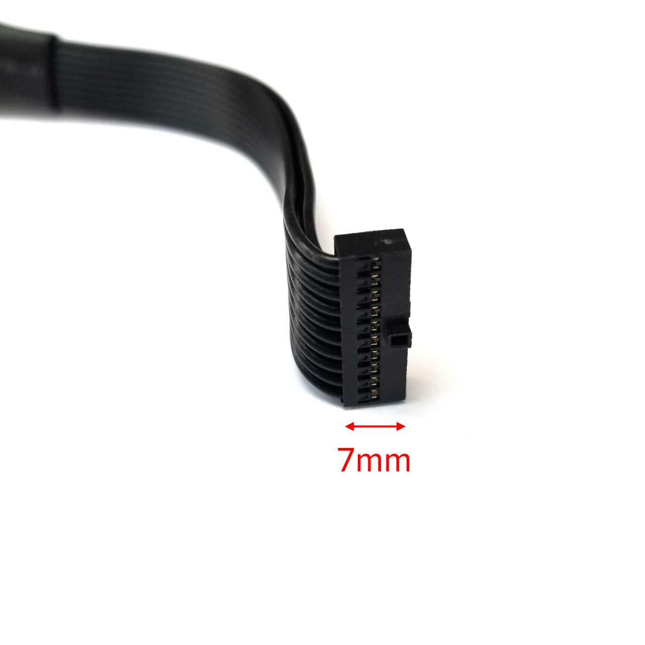 USB 3.0 20ピン内部ヘッダー延長ケーブル