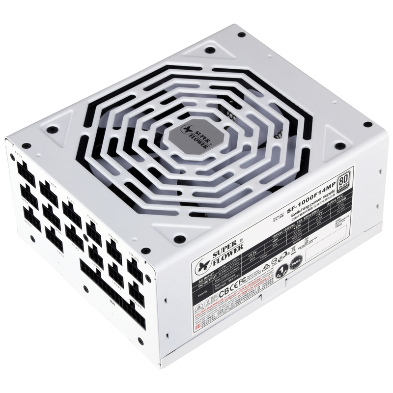 SuperFlower LEADEX PLATINUM SE 1000W White