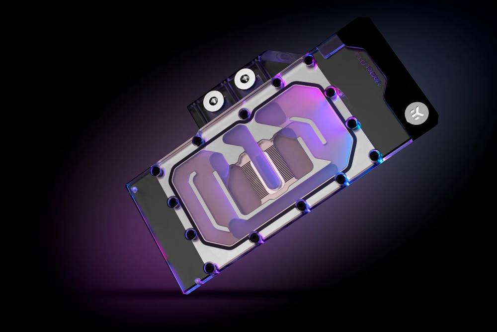EK WaterBlocks EK-Quantum Vector RE RTX 3080/3090 D-RGB - Nickel + Plexi