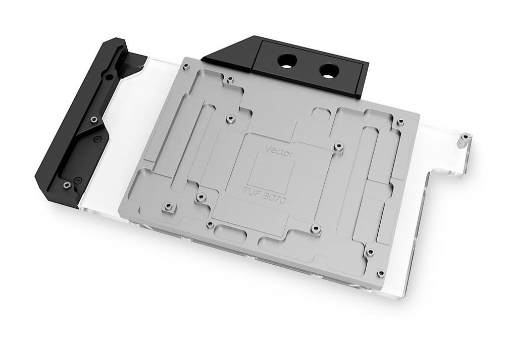 EK WaterBlocks EK-Quantum Vector TUF RTX 3070 D-RGB - Nickel + Plexi