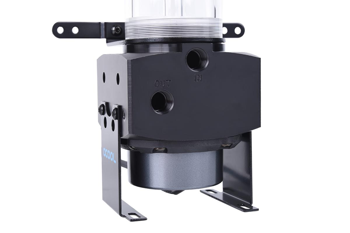 Alphacool Eisbecher D5 150mm Acetal reservoir incl. 1x Alphacool Eispumpe VPP755