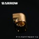 BARROW 90°Adapter ( Female to Felame ) Gold