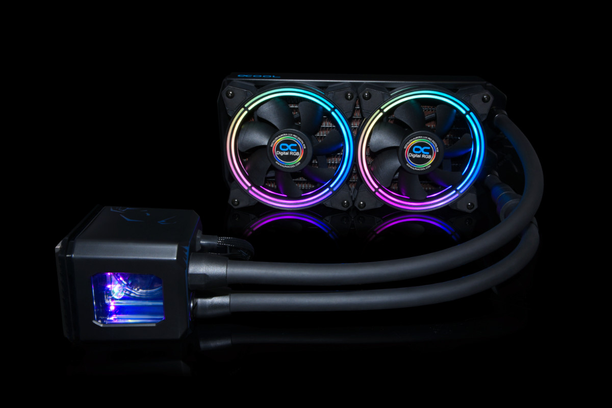 Alphacool Eisbaer Aurora 240 CPU - Digital RGB