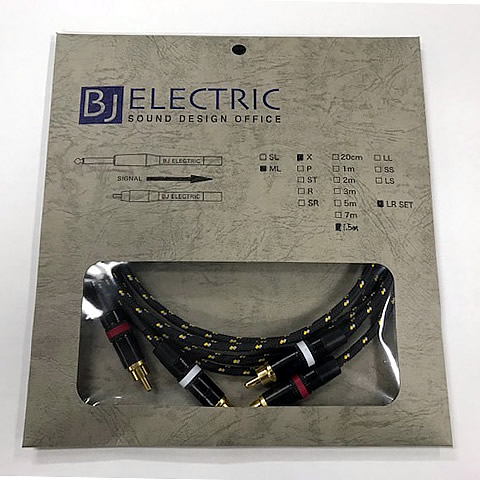 BJ ELECTRIC RCAケーブル