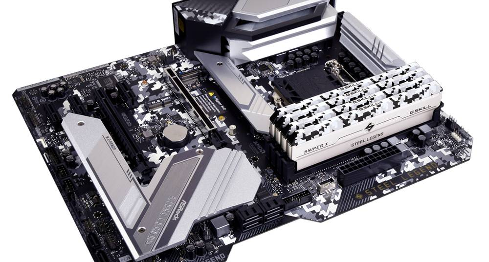G.SKILL SNIPER X STEEL LEGEND Ediittiion DDR4-3600 8GBx2