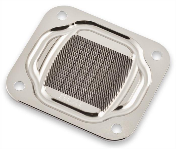 aquacomputer cuplex kryos NEXT with VISION AM4, acrylic/nickel