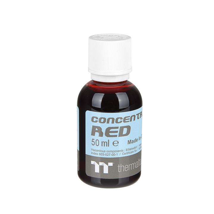Thermaltake Tt Premium Concentrate Red 50ml 1本 (CL-W163-OS00RE-A-1P)