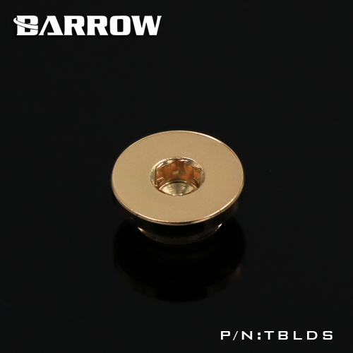 BARROW Ultra-thin Inner six angle Stop Plug Fitting Gold