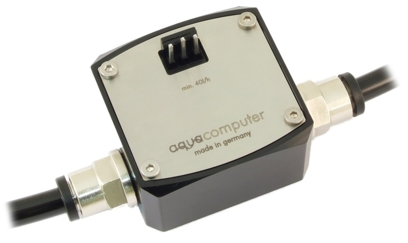 "aquacomputer Flow sensor ""high flow"" G1/4"