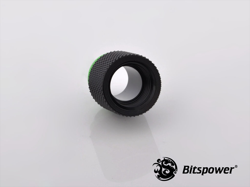 "Bitspower G1/4"" Matt Black IG1/4"" Extender-15MM"