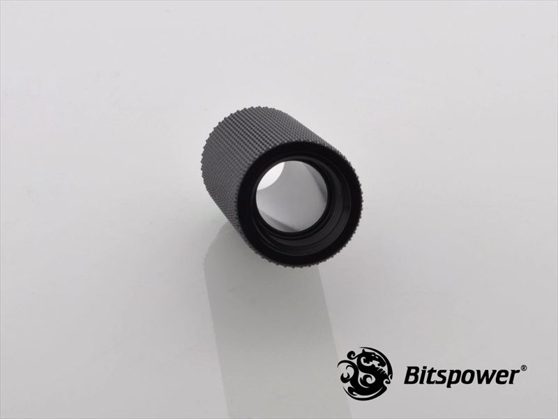 "Bitspower G1/4"" Matt Black IG1/4"" Extender-40MM"
