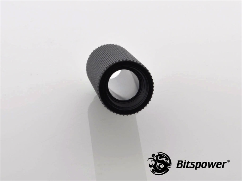 "Bitspower G1/4"" Matt Black IG1/4"" Extender-50MM"