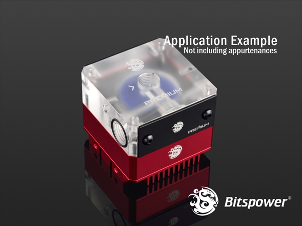 "Bitspower Premium Magic-Cube Type DDC MOD TOP G1/4"" (Acrylic Version)"