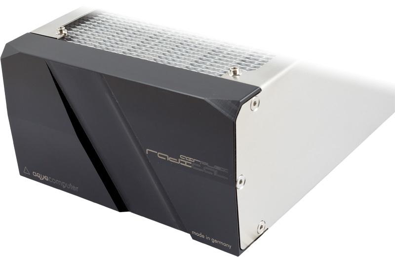 aquacomputer airplex radical 4/420, aluminum fins