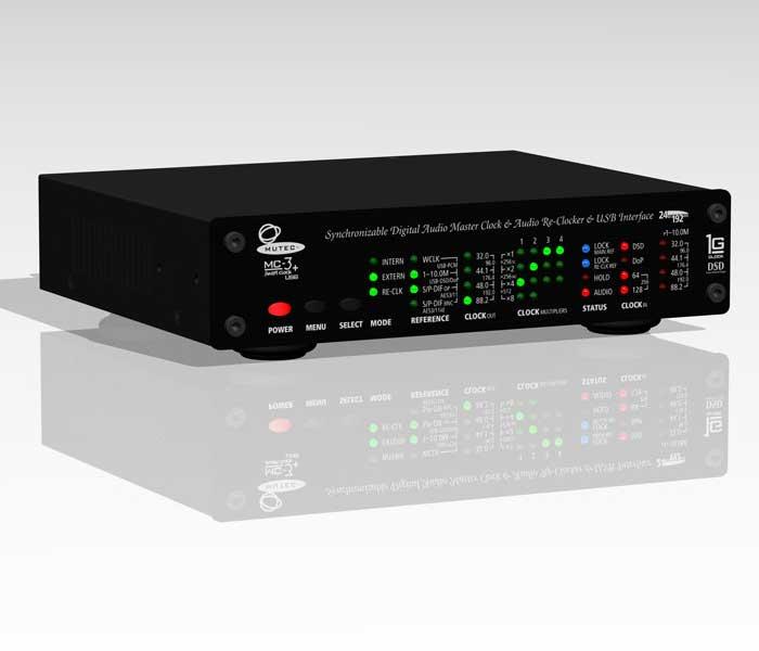 MUTEC MC-3+USB マスタークロックジェネレーター