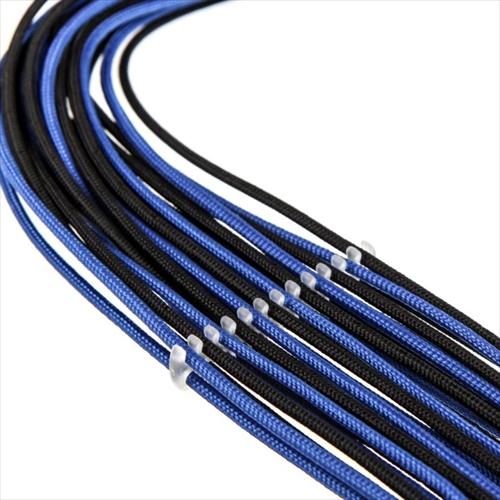 【特価】CableMod C-Series AXi, HXi & RM ModFlex Basic Cable Comb Kit - Transparent (CM-COM-BKIT-CSIC-R)