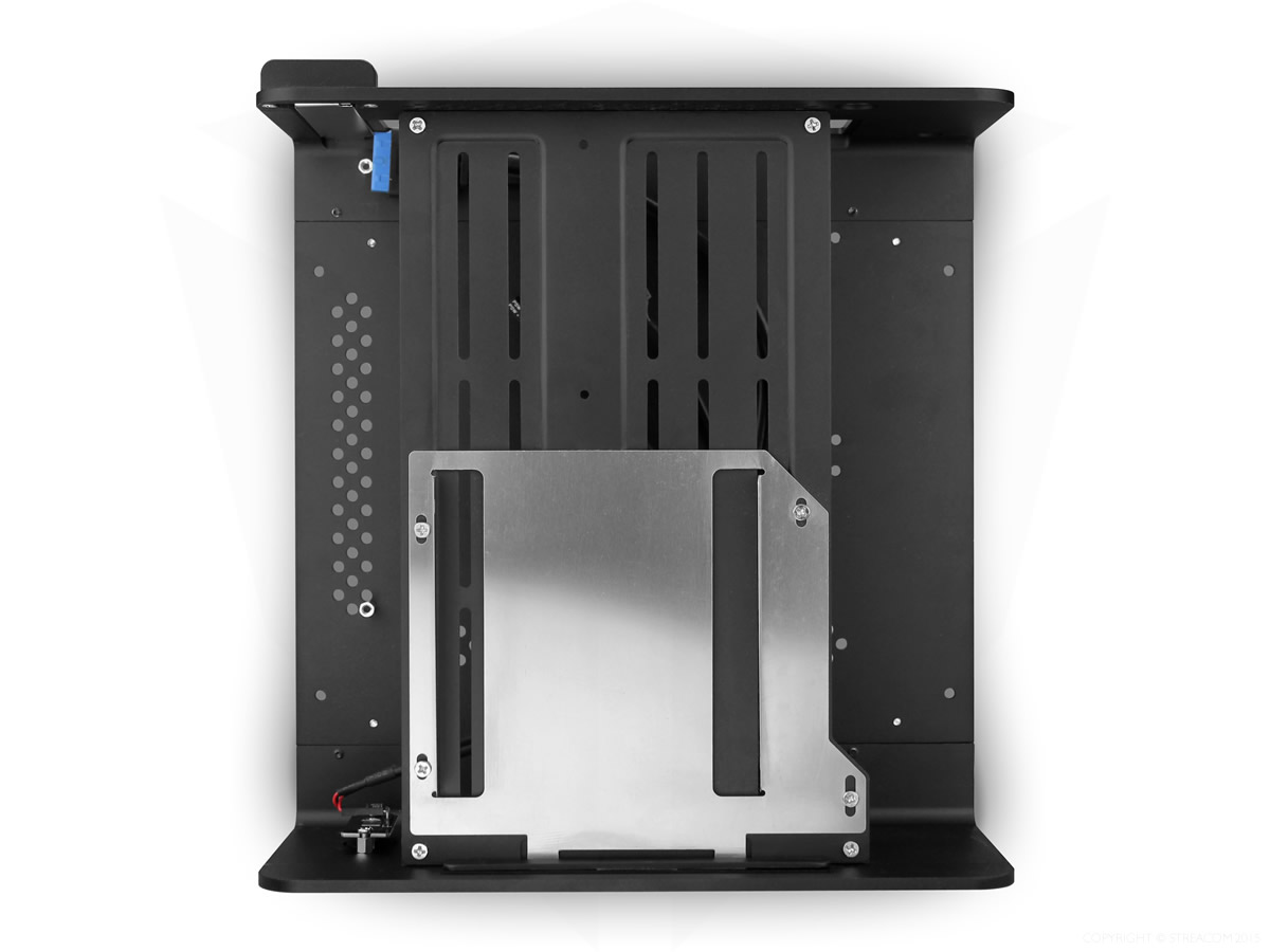 STREACOM F7C Alpha Chassis -With Optical Slot- ブラック (ST-F7CB-OPT-ALPHA)