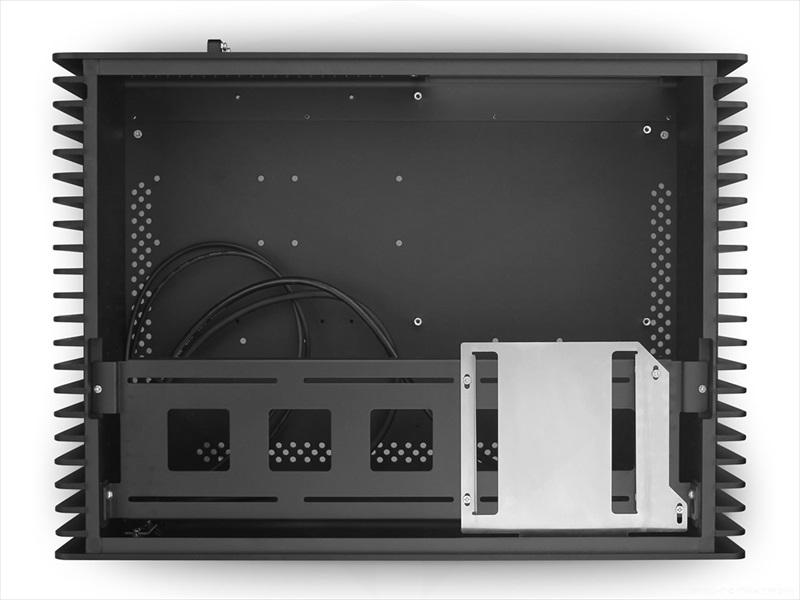 STREACOM FC10 Alpha Fanless Chassis -With Optical Slot- ブラック (ST-FC10B-OPT-ALPHA)
