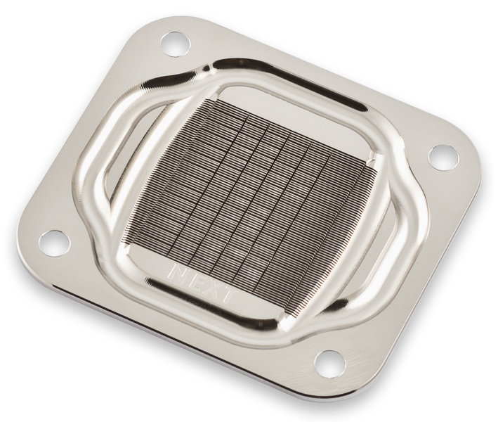aquacomputer cuplex kryos NEXT RGBpx AM4, acetal/nickel