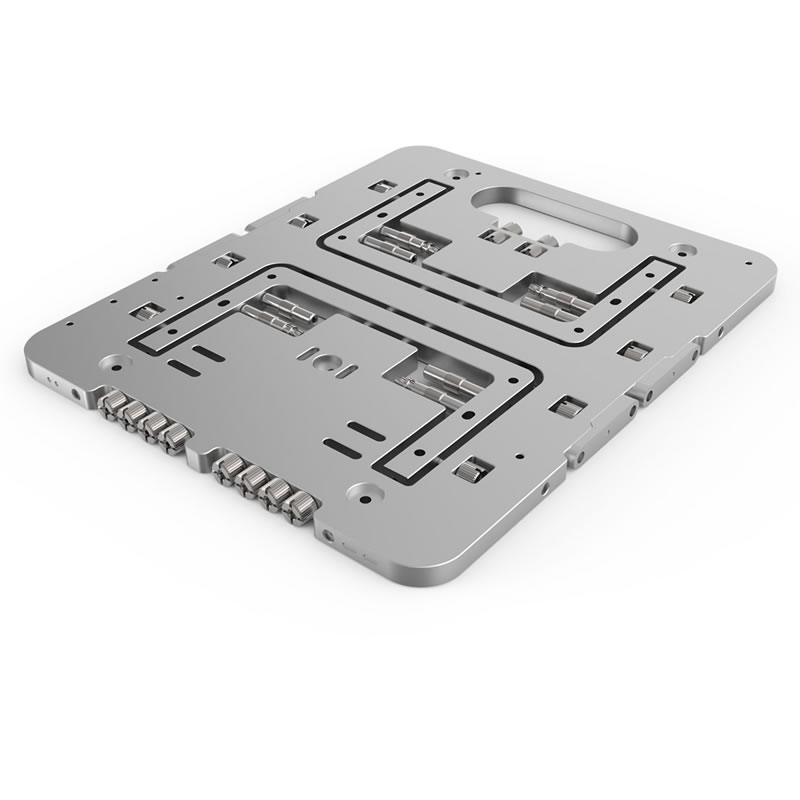 STREACOM BC1-Mini Open Benchtable Silver