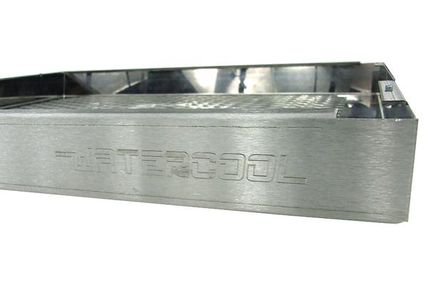 Watercool MO-RA3 360 Blende Rhombus stainless steel