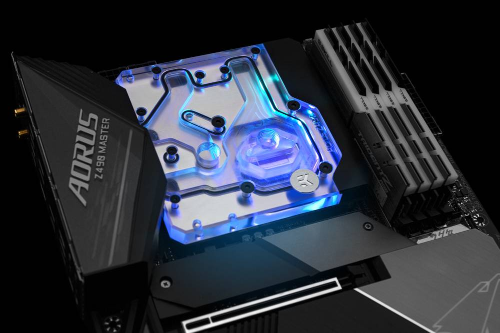 EK WaterBlocks EK-Quantum Momentum Aorus Z490 Master D-RGB - Plexi