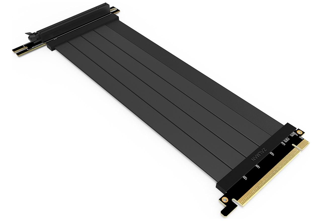 ZALMAN ZM-RCG422 PCIe4.0 ライザーケーブル 220mm