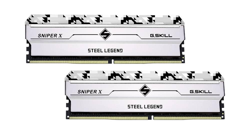 G.SKILL SNIPER X STEEL LEGEND Ediittiion DDR4-3600 16GBx2