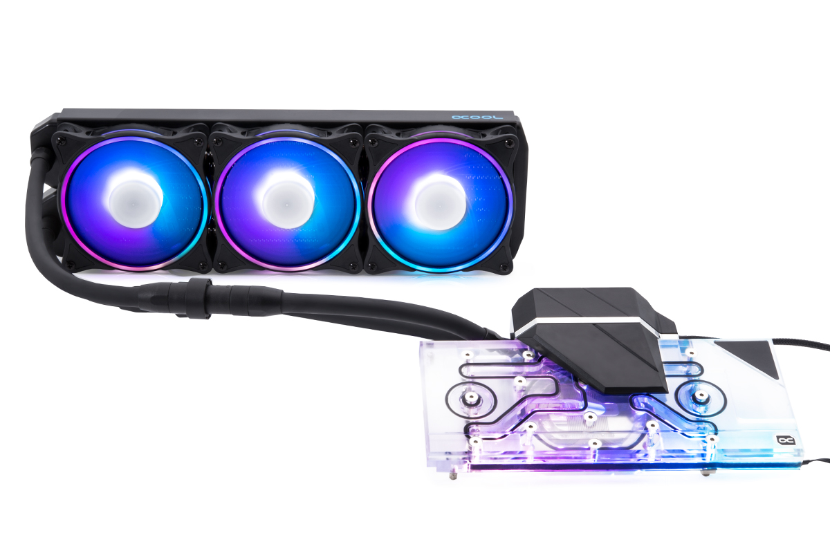 Alphacool Eiswolf 2 AIO - 360mm RTX 3090/3080 with Backplate (Reference)