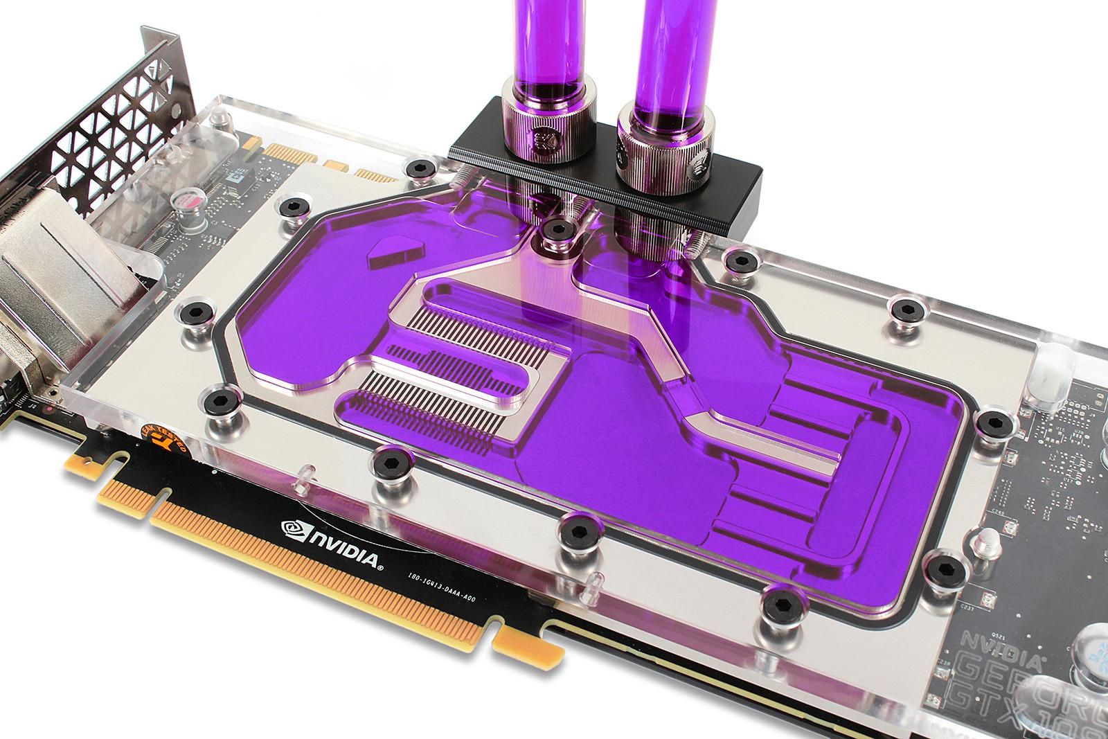 EK Water Blocks EK-CryoFuel Indigo Violet Concentrate 100 mL