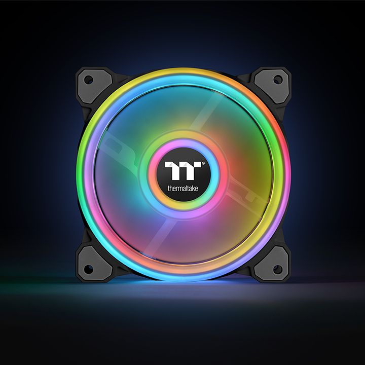 Thermaltake Riing Quad PLUS 12 RGB 3Pack (CL-F088-PL12SW-A)